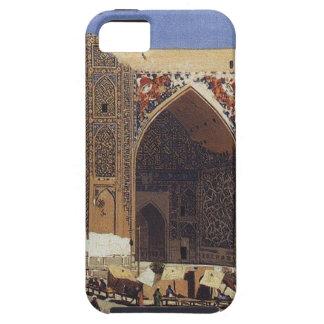 Madrasah de Shir Dor dans le carré de Registan à Coque Case-Mate iPhone 5