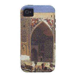Madrasah de Shir Dor dans le carré de Registan à Coque iPhone 4 Vibe