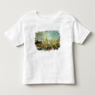 Madrid juste dans la plaza de la Cebeda (huile T-shirt Pour Les Tous Petits