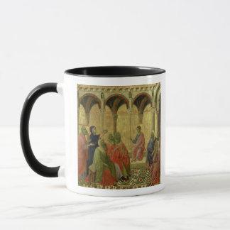 Maesta : Le Christ parmi les médecins, 1308-11 Tasses
