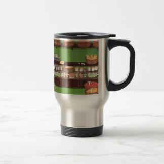 Magasin de marchand de légumes mug de voyage en acier inoxydable