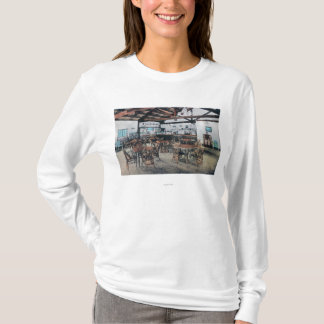 Magasin de Seigler Hot Springs, bureau de poste T-shirt