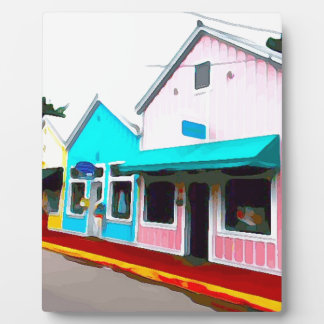 Magasins de pastel à Key West Plaque Photo