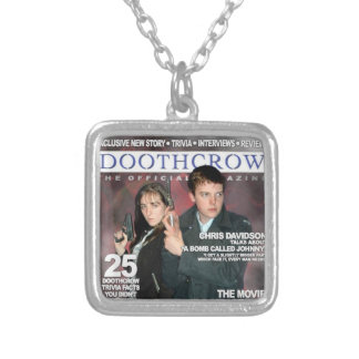 Magazine de Doothcrow : Argent Pendentif Carré