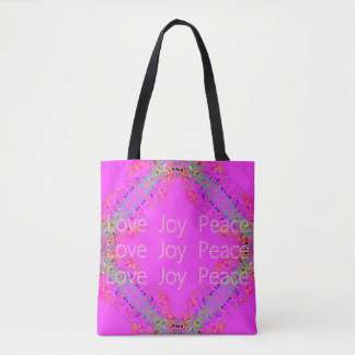 MAGICAL-PINK-LOVE-JOY-PEACE--QUOTIDIEN-EMBALLAGES SAC