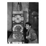 Magicien de flipper : les années 1940 carte postale
