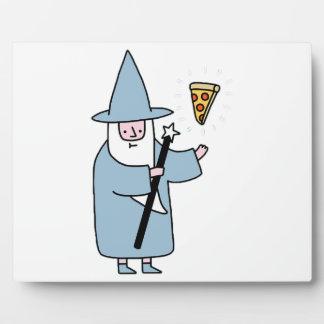 Magicien de pizza - aléatoire plaque photo
