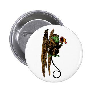 Magicien d'Oz vintage, casquette mauvais de singe Badges