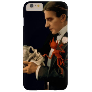 Magicien vintage Thurston tenant un crâne humain Coque Barely There iPhone 6 Plus