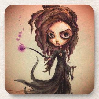 Magiciens mauvais de Witchy Dessous-de-verre