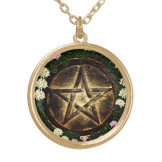Magick naturel pendentif rond