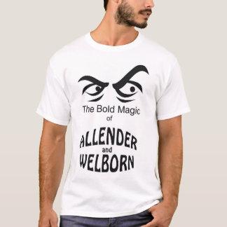 Magie audacieuse d'Allender et de Welborn T-shirt