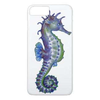 Magie bleue d'hippocampe coque iPhone 7 plus