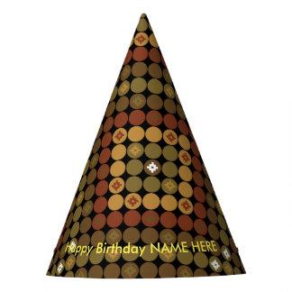Magie de diamant de polka de casquette de partie chapeaux de fètes