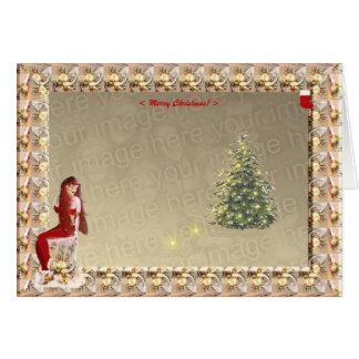 Magie de Noël. Modèle #2 Carte De Vœux