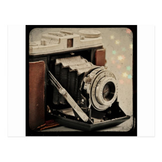 Magie vintage d'appareil-photo cartes postales