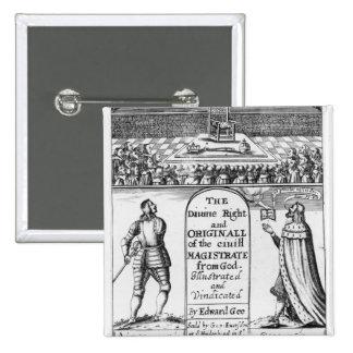 Magistrat civil original de droite divine de badges