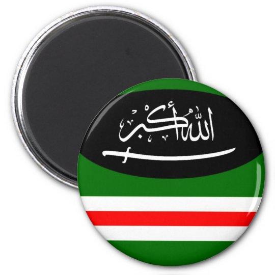 Magnet Chechnya flag