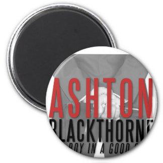 Magnet d'Ashton Blackthorne Magnet Rond 8 Cm