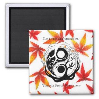 Magnet d'automne logo auteur