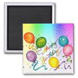 Magnet de fête d'anniversaire aimants pour réfrigérateur