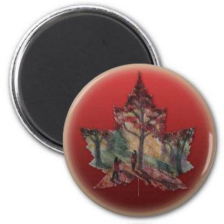 Magnet de feuille d'érable du Canada d'aimant de