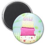 Magnet de gâteau d'anniversaire aimants pour réfrigérateur