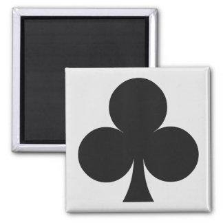 Magnet de joueur de carte - club