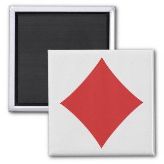 Magnet de joueur de carte - diamant