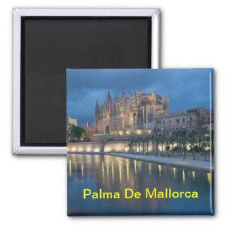 Magnet de Palma de Majorque Magnet Carré