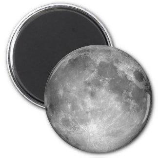 Magnet de pleine lune magnet rond 8 cm