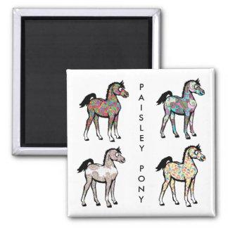 Magnet de poney de Paisley