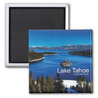 Magnet de réfrigérateur de photo de voyage du lac  aimant pour réfrigérateur