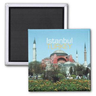 Magnet de souvenir de photo de voyage d'Istanbul T Aimants Pour Réfrigérateur