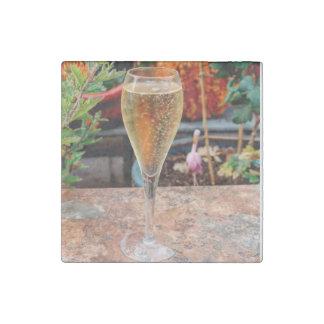 Magnet En Pierre Célébration de Champagne de chute