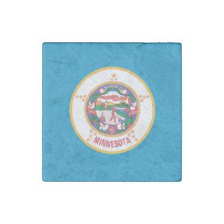 Magnet En Pierre Conception de drapeau du MINNESOTA -