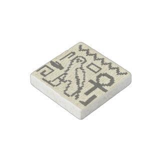 Magnet En Pierre Copie de crochet d'hiéroglyphes sur l'aimant en
