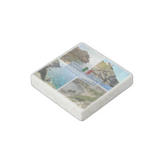 Magnet En Pierre IL île de l'Italie - de la Toscane - du Giglio -