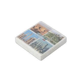 Magnet En Pierre IR Iran - Isphahan - désert de Lut - Ruines