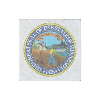 Magnet En Pierre Joint d'état du Minnesota -