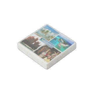 Magnet En Pierre Les BS Bahamas - Nassau - la tour royale - lagune