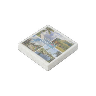Magnet En Pierre Les FJ Océanie - Fidji - île de Denarau - Nava -
