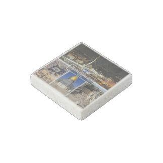 Magnet En Pierre L'IL Israël - Jérusalem - dôme de la roche -