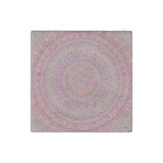 Magnet En Pierre Mandala d'ovale de Boho