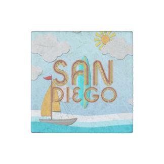 Magnet En Pierre PIÈCE EN T San Diego