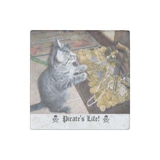 Magnet En Pierre Pirate Kitty