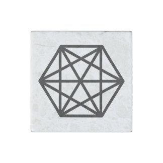 Magnet En Pierre Roi (+)/magnet en pierre de marbre, individuel
