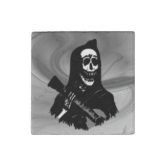 Magnet En Pierre Sérénade squelettique de guitare de Smokey
