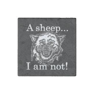 Magnet En Pierre Un mouton… Je ne suis pas