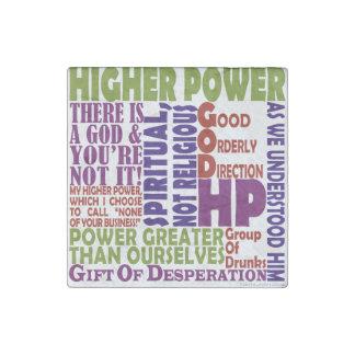 Magnet En Pierre Une puissance plus élevée de 12 étapes